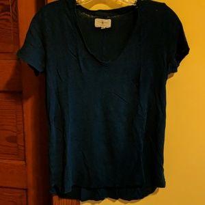 Lou&Grey blue v-neck t-shirt